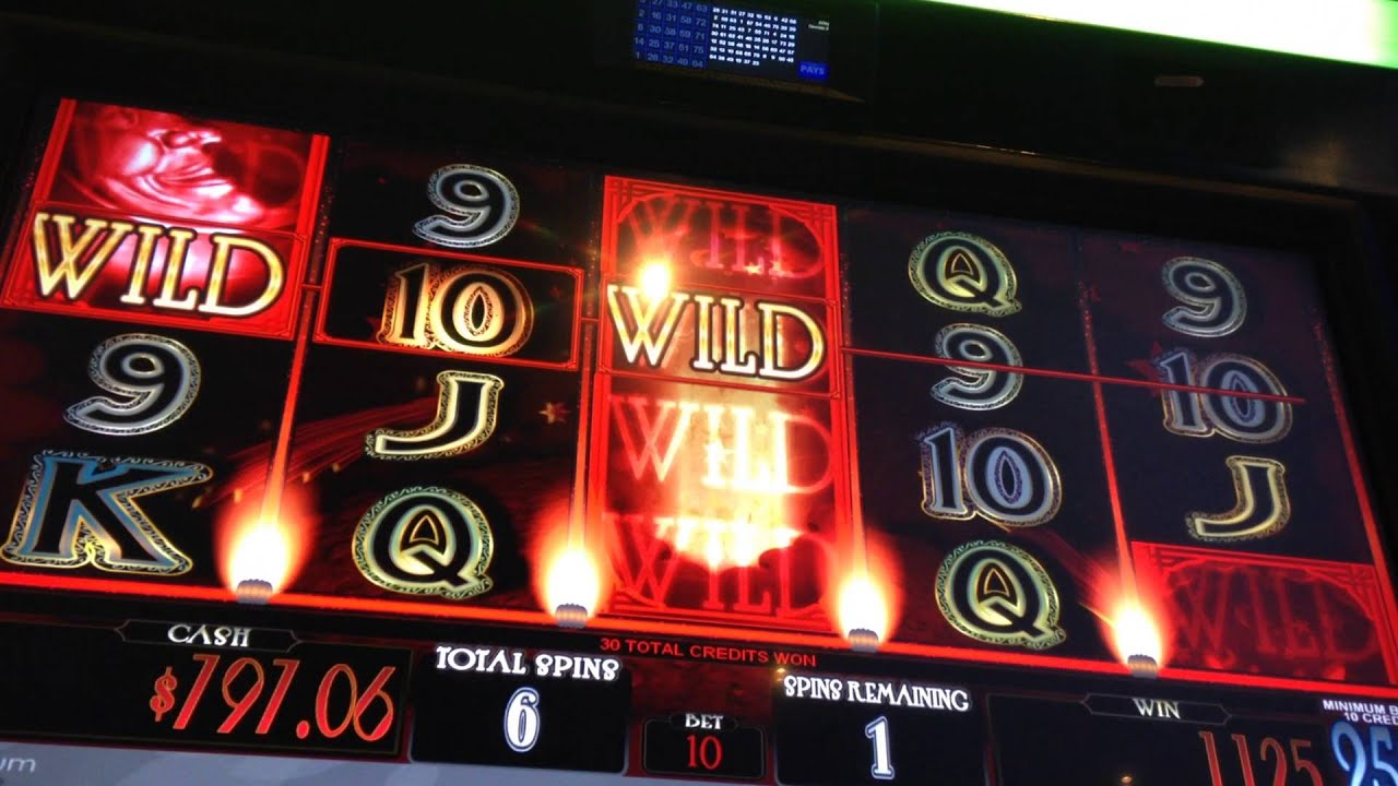 Starry Night Slot Machine Bonus Huge Big Win Quarters Youtube