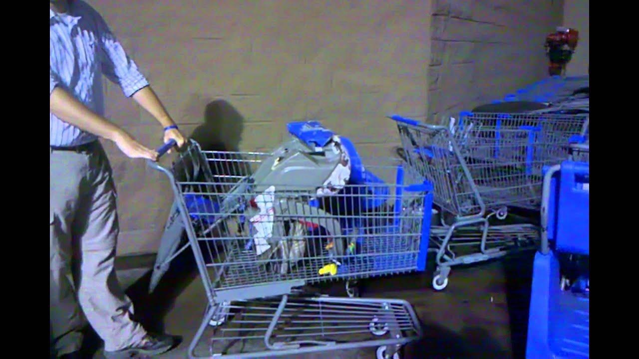 Wal Mart Cart Hazard Youtube