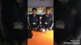 7 segment display by 9th class