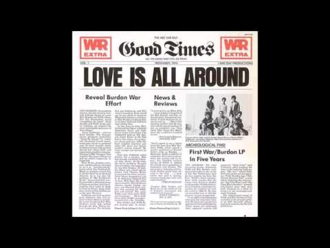 WAR Eric Burdon Love Is All Around (full Album)