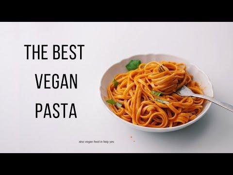 Easy Vegan Pasta Recipe + what i ate in italy