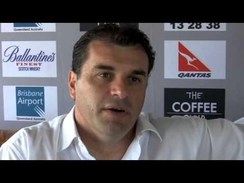 Ange POSTECOGLOU Interview - Head Coach SOCCEROOS (Australian Soccer National Team)