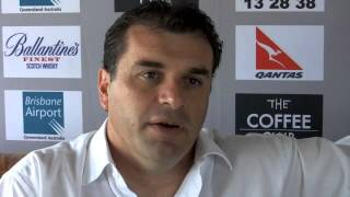 Ange POSTECOGLOU Interview - Head Coach SOCCEROOS (Australian Soccer National Team)