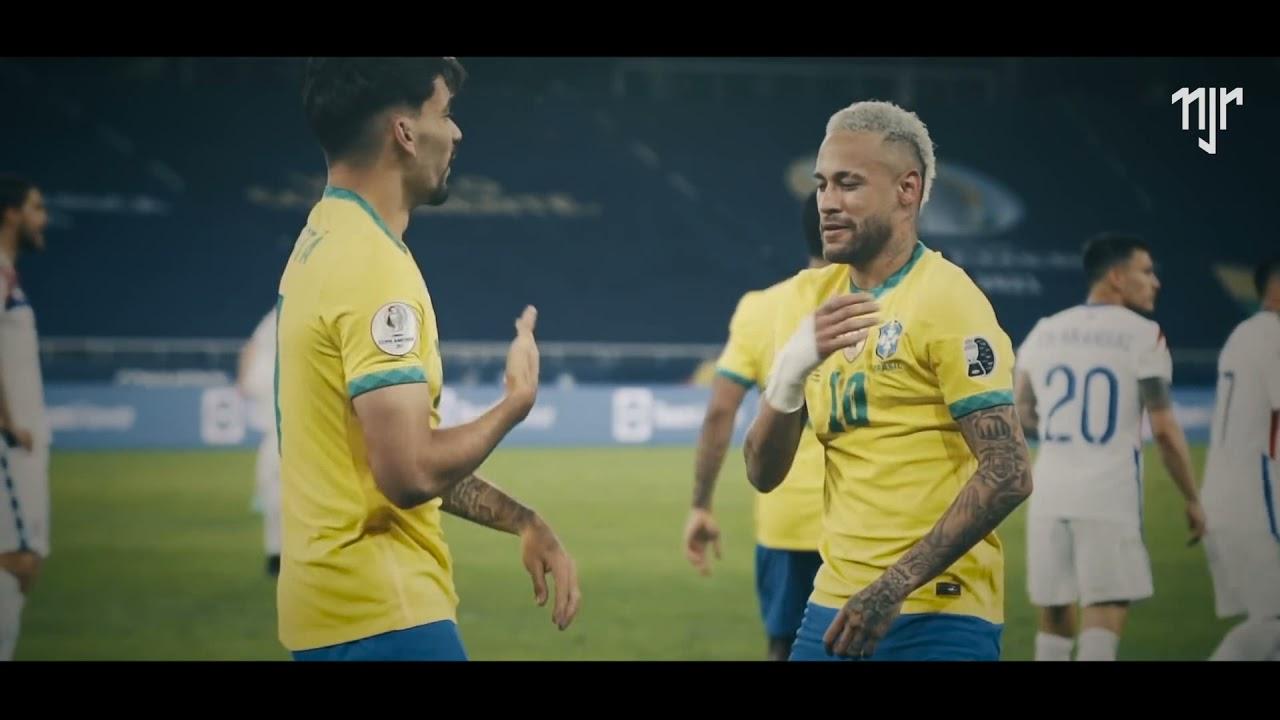 Neymar Jr   Brasil x Argentina - Final Copa América 2021