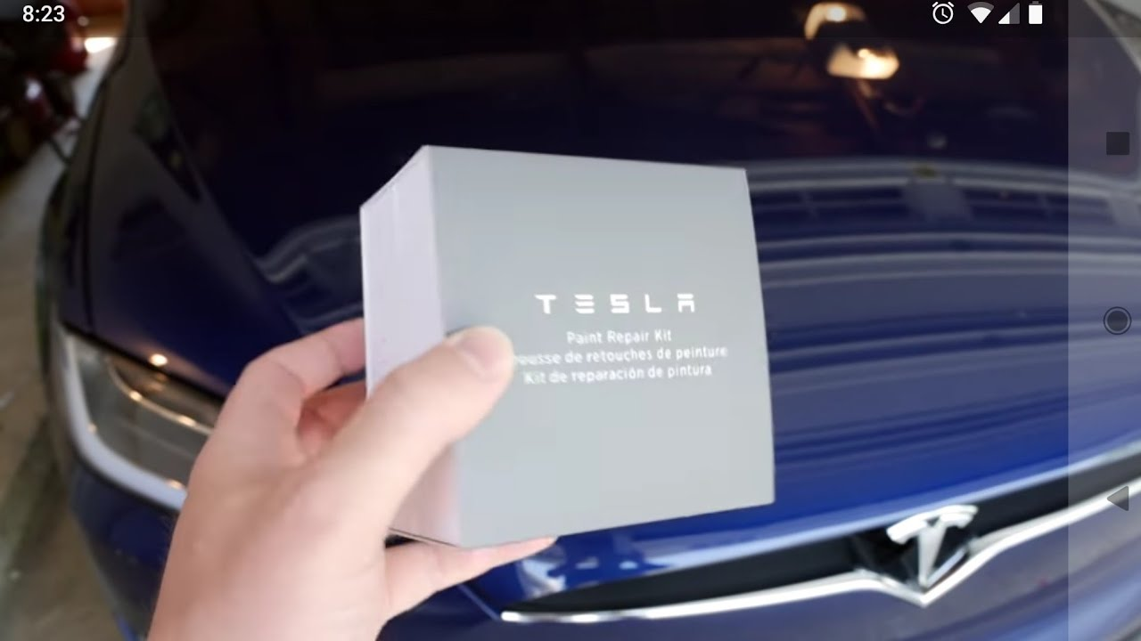 Tesla Paint Repair Kit How Not To Use Youtube