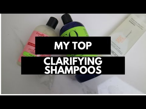 Fine Hair| My Top Natural Clarifying Shampoos