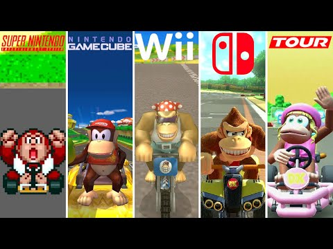 Evolution of Kong Characters in Mario Kart (1992-2020)