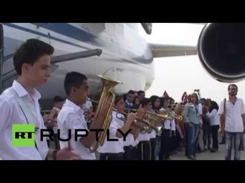 Syria: Russian planes with humanitarian aid arrive in Latakia