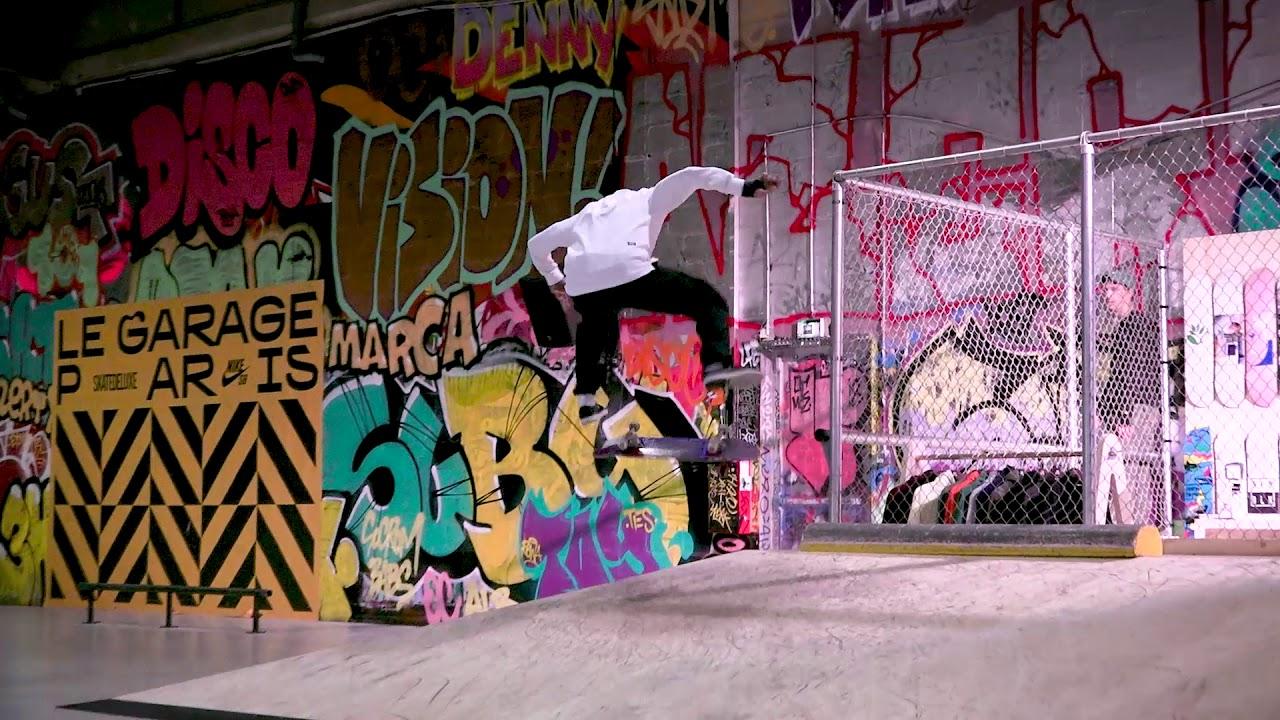 Opening le garage skatepark shop in paris france youtube for Garage ad paris