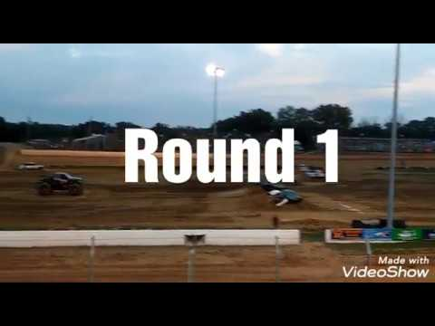 Monster Truck Racing at Florence Speedway