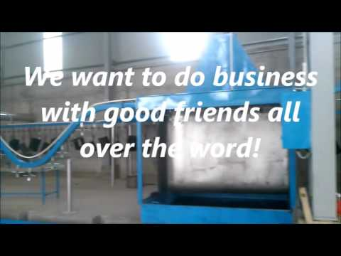 Iron Casting, New Automatic Painting Line