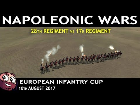 Mount & Blade : Napoleonic Wars | European Infantry Cup (EIC) 28th vs 17e