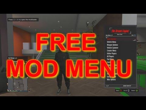GTA 5 Mod Menu  -