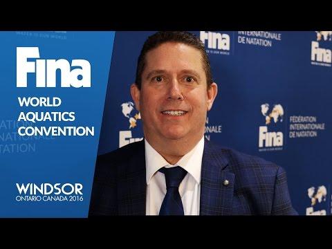 Dr. Saul Marks - Interview - FINA World Aquatics Convention - Windsor 2016