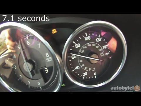2016 Mazda MX-5 Miata Club 0-60 MPH Acceleration Test Video - 2300 lbs and 155 HP 4 cylinder