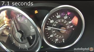 2016 Mazda MX-5 Miata Club 0-60 MPH Acceleration Test Video - 2300 lbs and 155 HP 4 cylinder