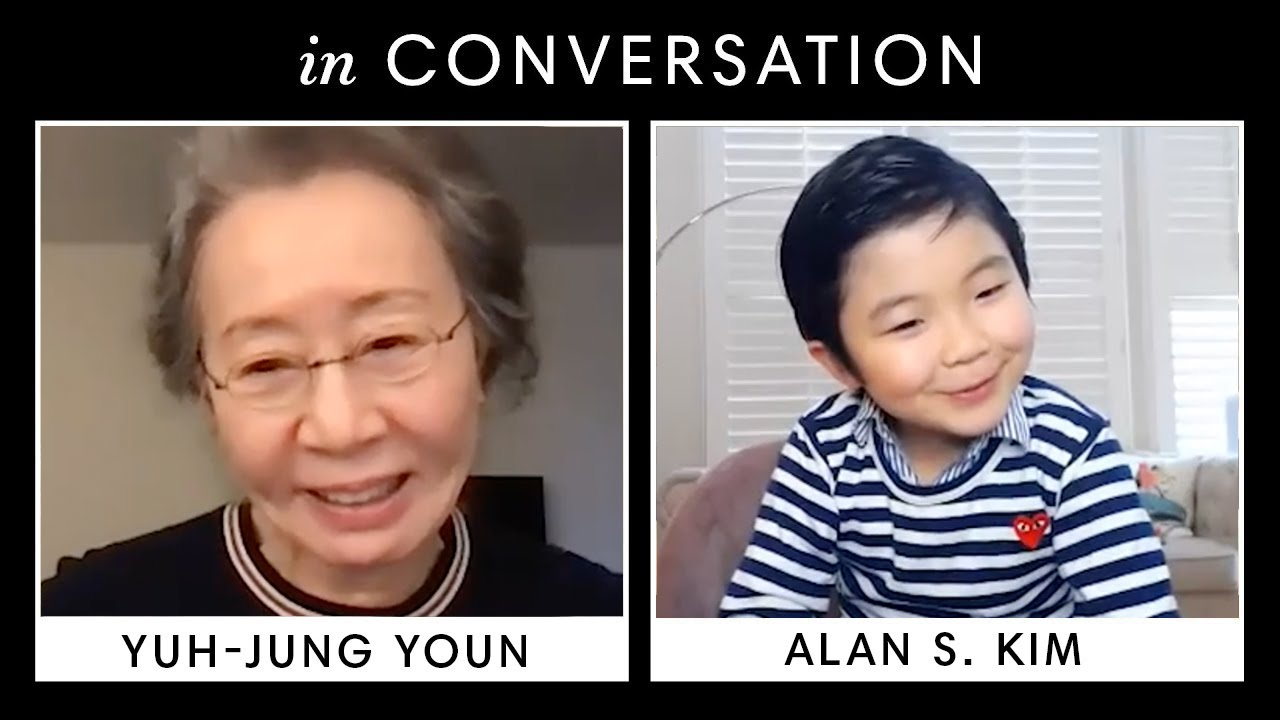 'Minari' Star Alan S. Kim Asks Yuh-Jung Youn All Your Burning Questions | Harper's BAZAAR