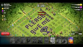 Funny troll base of coc| clash of clans.
