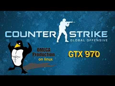 GAMING ON LINUX - CS:GO ULTRA GTX 970 on Kubuntu 15.10 [REAL FPS]