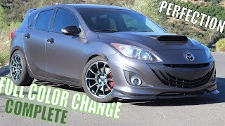 homepage tile video photo for THE REBIRTH OF THE MAZDASPEED 3
