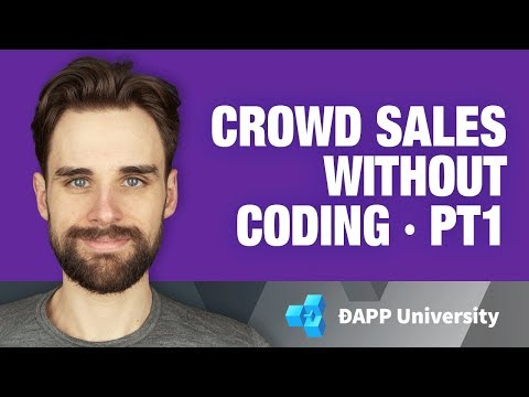 Create Ethereum ERC-20 Tokens And Crowd Sales (ICO) Without Coding With Token Wizard