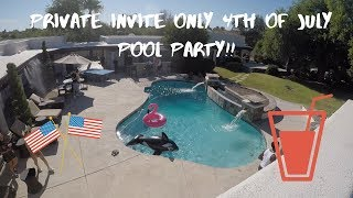 Ep. 4 - JCOOKS PRIVATE INVITE ONLY 4TH OF JULY PARTY!!! ft. Jcook, Dominique Tyler, Leo, etc.