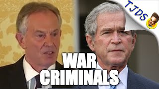 Report Finds Tony Blair Schemed With Bush To Invade Iraq