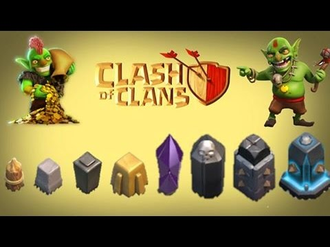 Clash of Clans How To Level Up Walls Very Fast | Clash Of Clans Strategy Guide
