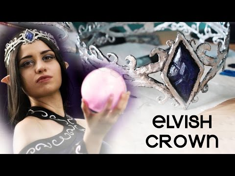 Elvish Crown TUTORIAL    Tiara Corona Elfica