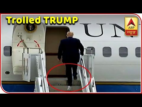 Viral Fatafat: Donald Trump Gets Trolled For His Latest Video On A Plane | ABP News