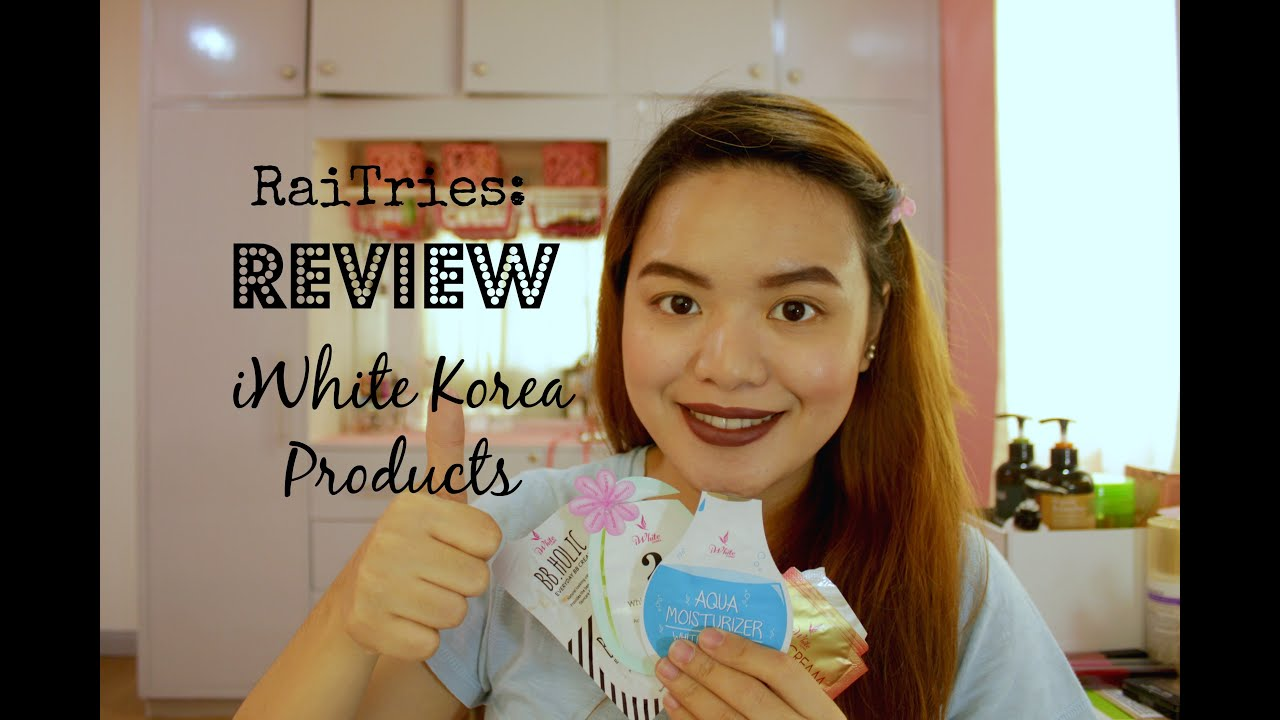 RaiTries: Review of iWhite Korea Products [Tagalog]