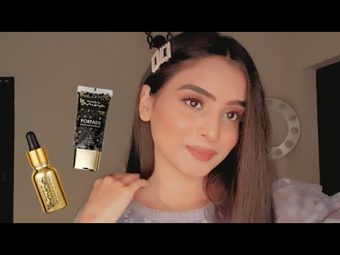 24K GOLD SERUM + PRIMER |BeautifybyAmna| Review + Demo!