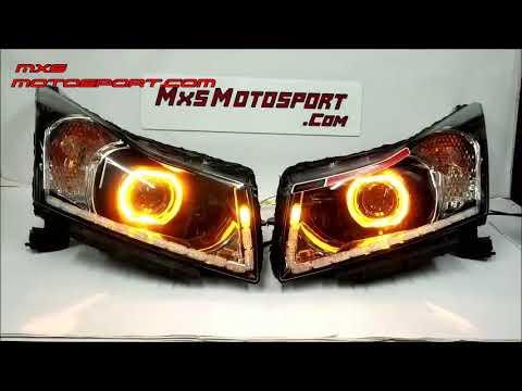 V1764 Chevrolet Cruze Matrix LED DRL's Daytime Projector Headlights By MxsMotosport