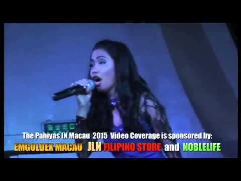 The Pahiyas in Macau 2015 Karaoke Queen Mae