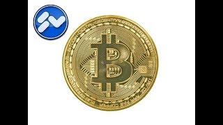 Crypto-Geld im Hintergrund einer Website