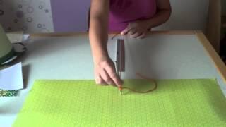 Schultüte aus Tonkarton basteln