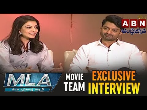 MLA Movie Team Exclusive Interview | Kalyan Ram | Kajal Aggarwal | ABN Telugu