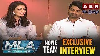 MLA Movie Team Exclusive Interview | Kalyan Ram | Kajal Aggarwal | ABN Telugu