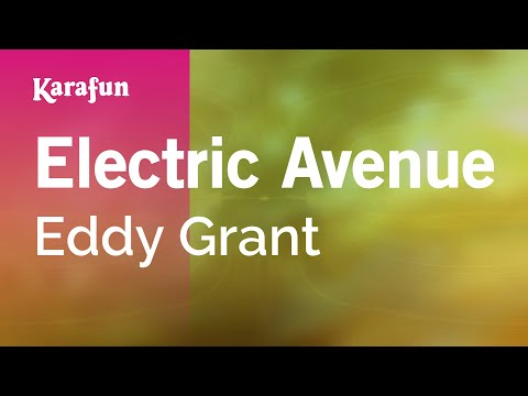 Karaoke Electric Avenue - Eddy Grant *