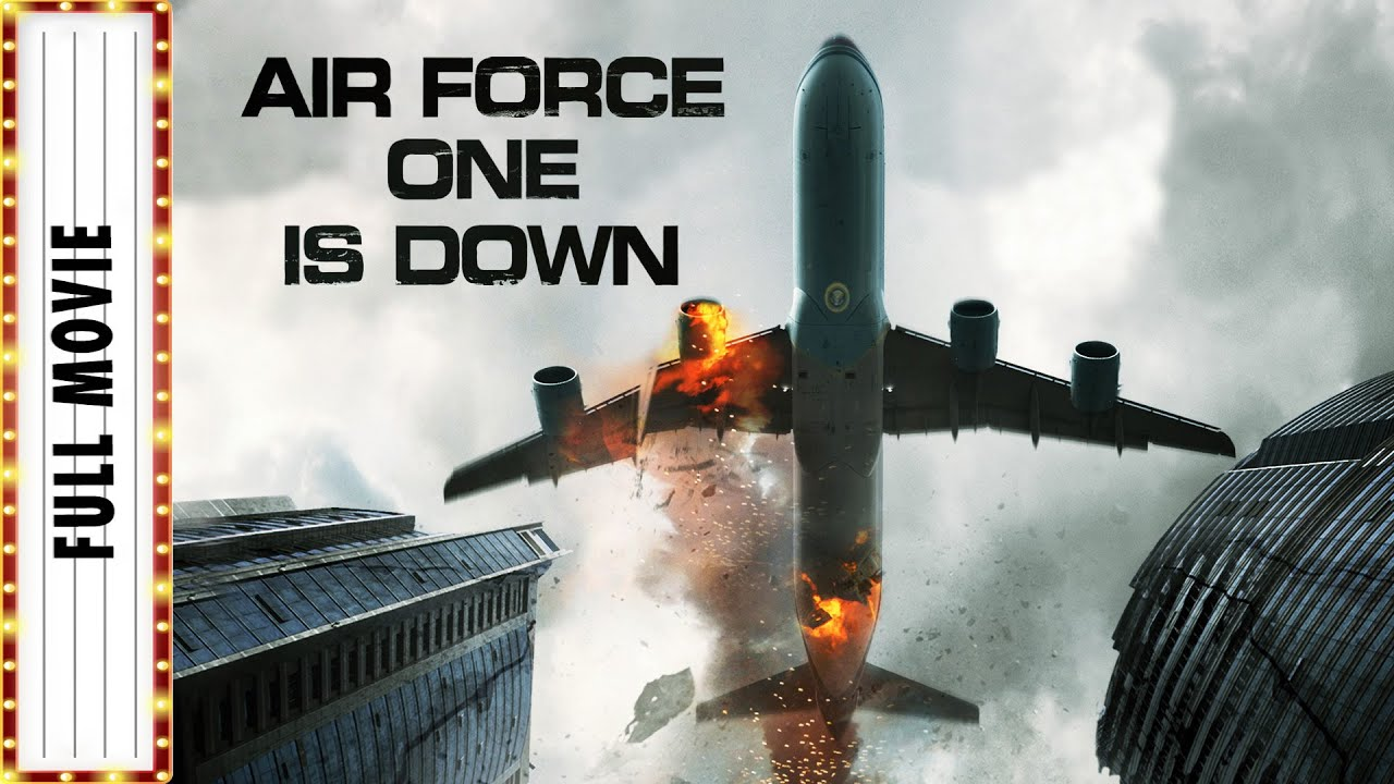 Download Air Force One Is Down FULL MOVIE   Linda Hamilton   Thriller Movies   The Midnight Screening