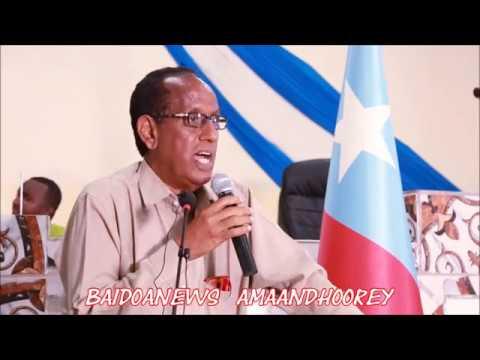 BAYDHABO -  CASHO SHARAF HEER SARE AH OO LOO SAMEEYEY GUDIGA DIB U EEGISTA DASTUURKA SOMALIA