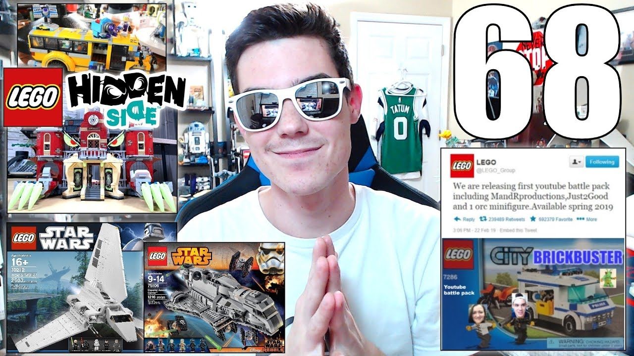 Forgotten LEGO Star Wars Sets, BEST LEGO Hidden Side Set? LEGO Video Games | ASK MandRproductions 68