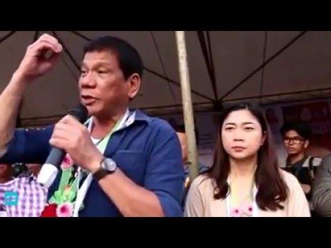 Mayor Duterte at Tabaco, Legaspi, Albay, Bicol Region, Philippines