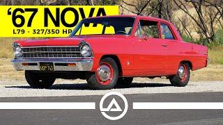 1967 Chevy Nova L79 327/350 hp | Old School Muscle Car