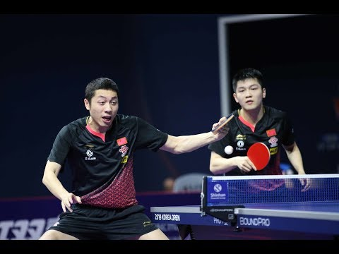 Fan Zhendong/Xu Xin vs Lin Gaoyuan/Liang Jingkun | MD-FINAL | 2019 Asian Championships