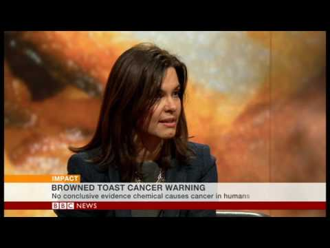 Can burnt toast cause cancer?