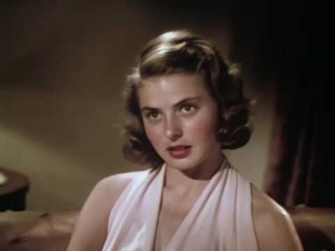 The Stunning Beauty Of Ingrid Bergman Without Makeup