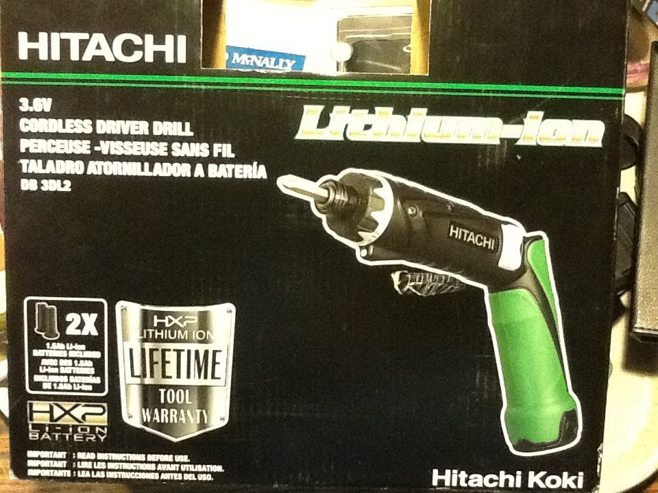 Tool Tuesday - Hitachi Cordless Driver Drill Review - YouTube