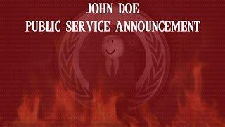 John Doe - Public Service Announcement [Roblox Mysteries]