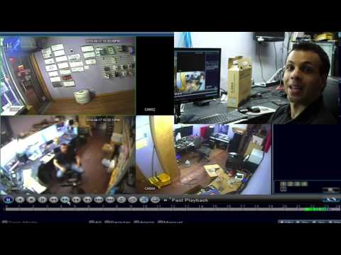 """""""What do you get with a $500 eBay CCTV security camera system?"""" date:4-23-15"""